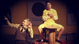 Ne Parlez Jamais Avec Des Inconnus - Le Maitre et Marguerite - The Master And Margarita - Mikhail Bulgakov - Theatre du Soleil - Festival Premiers Pas - Compagnie 38CIT - 38 CIT - Gauderic Kaiser - 94